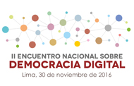 II Encuentro Nacional Democracia Digital