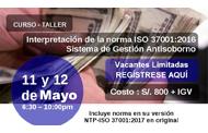 """IITaller """"ISO 37001:20016 – Sistema de Gestión Antisoborno"""""""