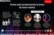 Oracle transforma la manera de hacer música