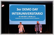 3er Demo Day InterUniversitario de Emprendimientos