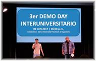 3er Demo Day InterUniversitario de Emprendimientos
