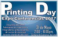¡Hoy es el día! Expoconferencias en PRINTING DAY 2017