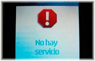 Carrier deja sin servicio a usuarios