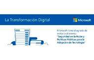 """Evento Microsoft: """"Seguridad en la Nube y Políticas Públicas para la Adopción de la Tecnología"""""""