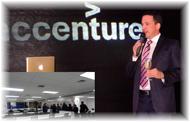 Accenture inaugura flamantes oficinas