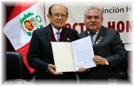 Ing. Augusto Mellado es distinguido por la UNI como Doctor Honoris Causa