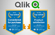 Liderazgo indiscutible de Qlik se da en principales categorías