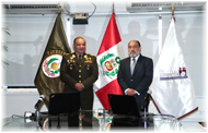 Reniec y el Ejército Peruano suscriben contrato