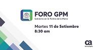 Foro GPM – Gobierno en la Palma de la Mano