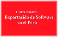 Exportación de Software: Nuevo Conversatorio