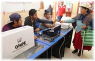 ONPE aplicará el voto electrónico presencial