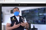 Inauguran módulos de video vigilancia