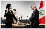 Carmen Velarde asumió la Jefatura Nacional del Reniec