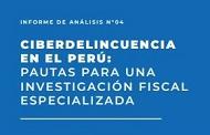 Ciberdelincuencia en el Perú