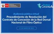 Resolución de Contrato: RDNFO