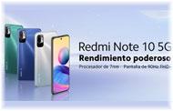 Llega el Redmi Note10 5G