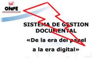 ONPE cancela apoyo técnico a su SGD